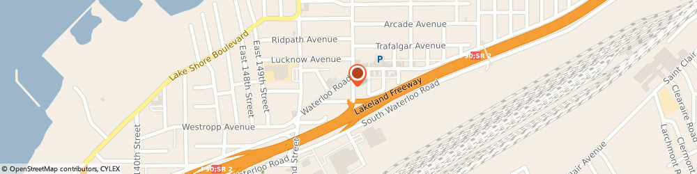 Route/map/directions to Sunoco, 44110 Cleveland, 15504 Waterloo Road