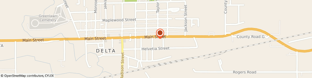 Route/map/directions to Good Neighbor Pharmacy, 43515 Delta, 702 Main Street
