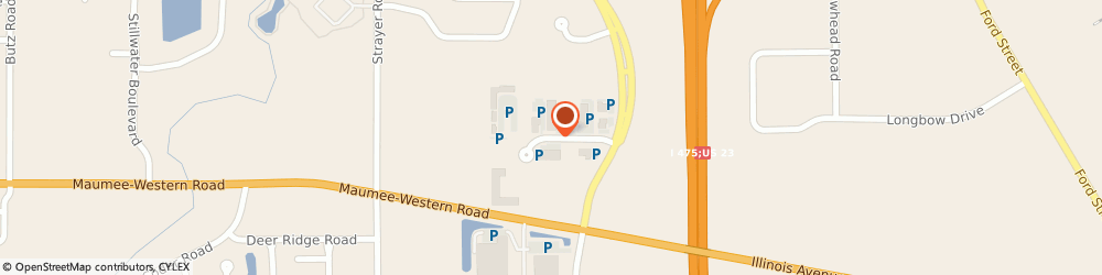 Route/map/directions to Apria Healthcare, 43537 Maumee, 6535 WEATHERFIELD COURT