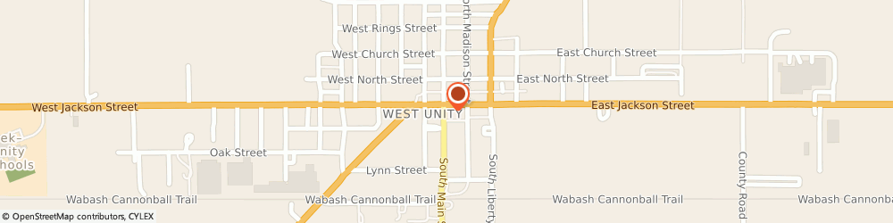 Route/map/directions to Good Neighbor Pharmacy, 43570 West Unity, 102 West Jackson