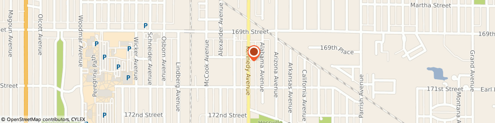 Route/map/directions to American Family Insurance- Karla Baca, 46323 Hammond, 7028 Kennedy Ave