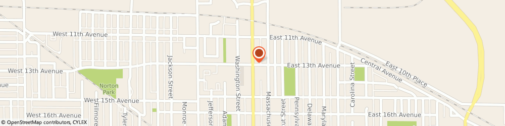 Route/map/directions to American Bail Bond Company Of Gary, 46407 Gary, 1291 BROADWAY