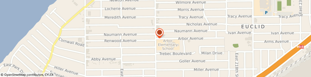 Route/map/directions to Detroit Auto Parts, 44119 Cleveland, 480 E 200th St
