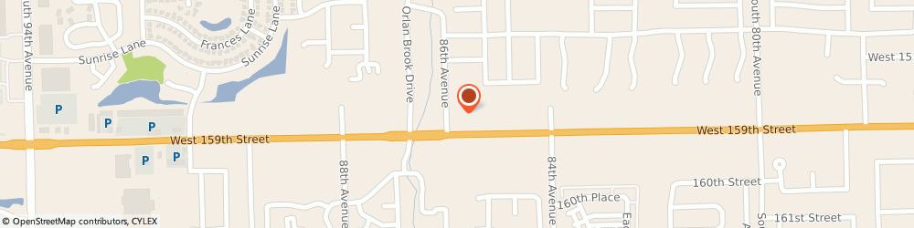Route/map/directions to Gerber Collision & Glass - Intake Center, 60462 Orland Park, 8550 W 159th St