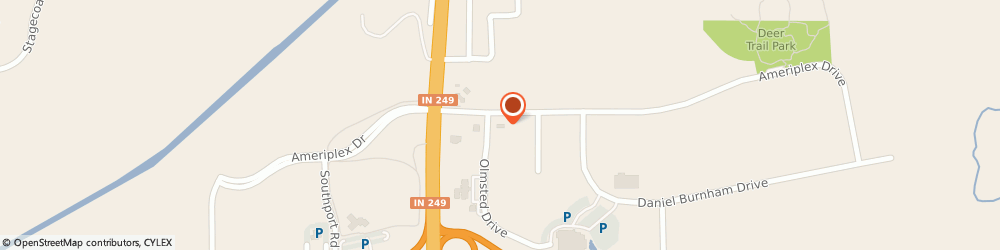 Route/map/directions to McDonald's, 46368 Portage, 6321 Ameriplex Drive
