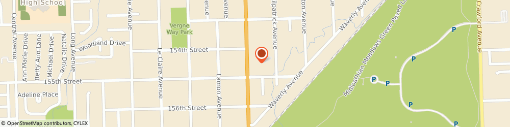 Route/map/directions to Navy Federal Credit Union, 60452 Oak Forest, 15427 S Cicero Avenue