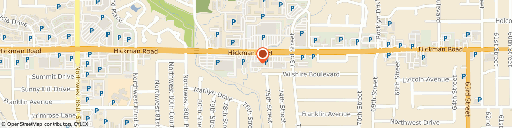 Route/map/directions to Edward Jones - Financial Advisor: Jon Lutz, AAMS®, 50324 Windsor Heights, 7658 Hickman Rd