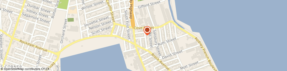 Route/map/directions to A-Tech Security Co, 02744 New Bedford, 13 SOCIAL ST