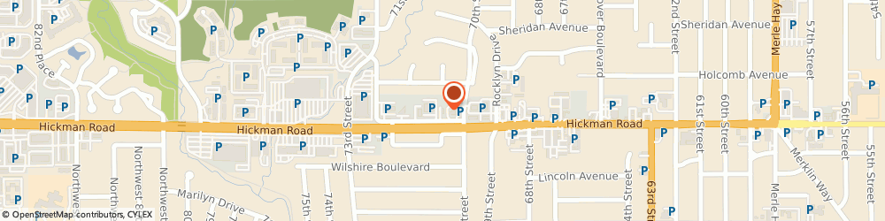 Route/map/directions to Home Instead Senior Care, 50322 Urbandale, 7017 Hickman Road