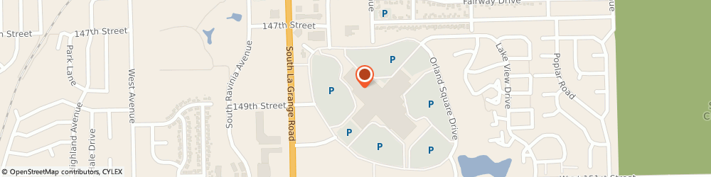 Route/map/directions to Lovesac, 60462 Orland Park, 300 Orland Square Drive