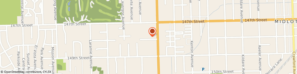 Route/map/directions to H&R Block, 60445 Midlothian, 4820 W 147th St