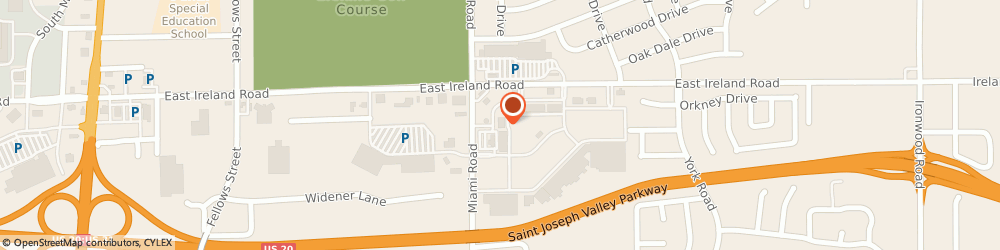 Route/map/directions to The UPS Store, 46614 South Bend, 1290 East Ireland Road