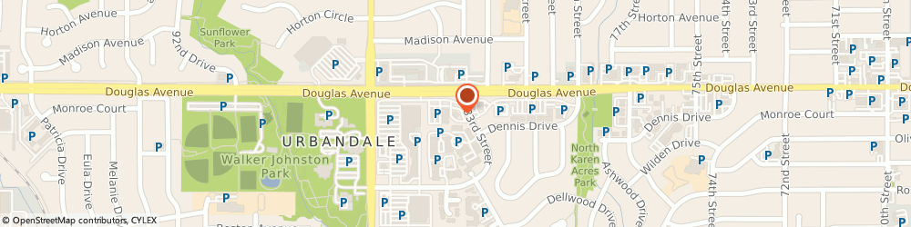 Route/map/directions to Bank of the West - ATM, 50322 Urbandale, 8300 Douglas Avenue