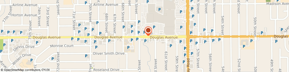 Route/map/directions to IHOP, 50322 Urbandale, 6301 Douglas Avenue