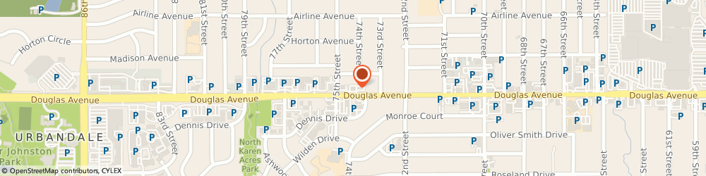 Route/map/directions to A&W, 50322 Urbandale, 7421 Douglas Avenue