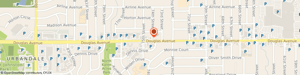 Route/map/directions to A&W Restaurant, 50322 Urbandale, 7421 Douglas Ave