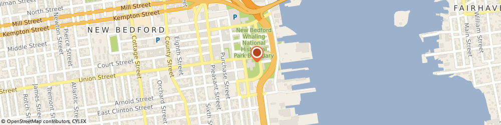 Route/map/directions to Silvas Tang Soo Do Academy, 02740 New Bedford, 25 SOUTH WATER STREET