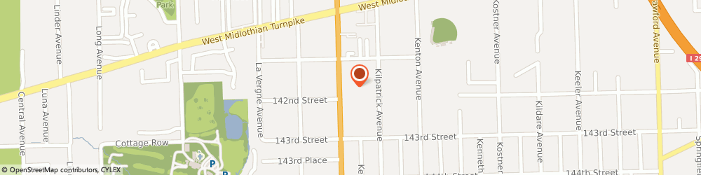 Route/map/directions to Safeco Insurance Agent, 60445-2152 Crestwood, 14129 Cicero Ave