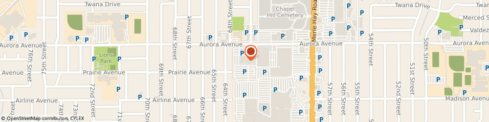 Route/map/directions to Bank Of America Home Loans, 50322 Urbandale, 6200 AURORA AVE STE 201E