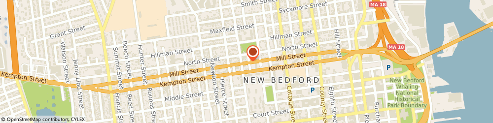 Route/map/directions to Westside Construction Corporation, 02740 New Bedford, 221 MILL STREET