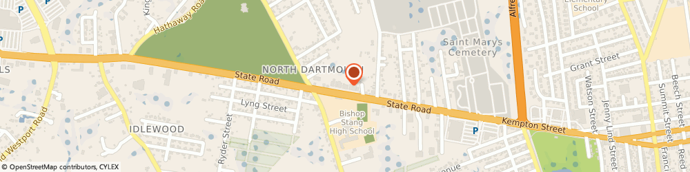 Route/map/directions to Dartmouth Pedorthics, 02747 North Dartmouth, 98 STATE RD # A