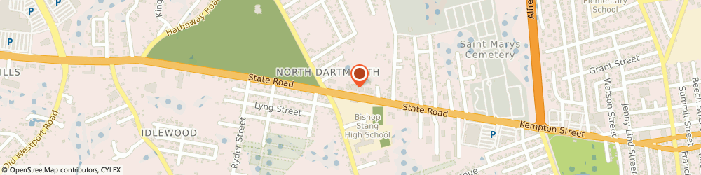 Route/map/directions to High Tech Security Svc, 02747 North Dartmouth, 106 STATE RD