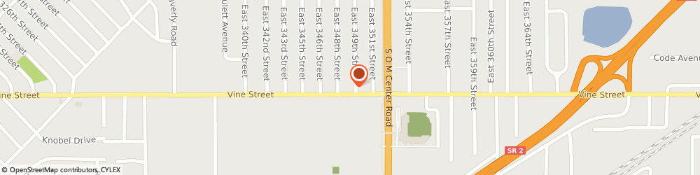 Route/map/directions to Dollar Bank, 44095 Eastlake, 34829 Vine Street