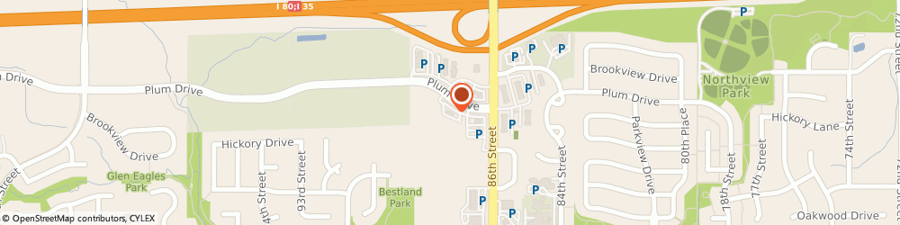 Route/map/directions to Culver's Urbandale, 50322 Urbandale, 8660 Plum Dr
