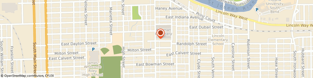 Route/map/directions to Farmers Insurance - Lu Ann Shaffer, 46613 South Bend, 1730 Miami St