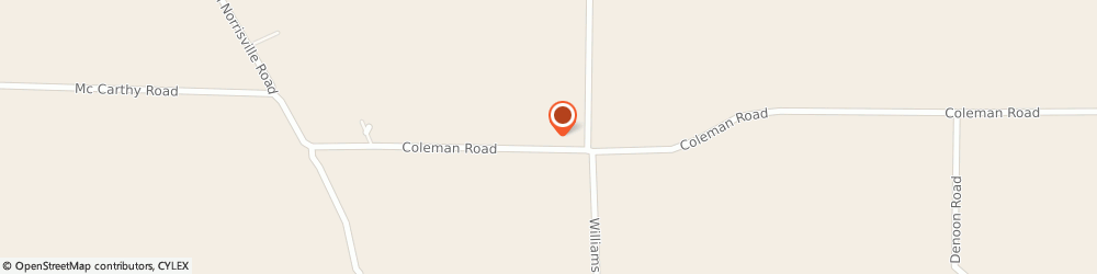 Route/map/directions to Coleman Water Services, 16335 Meadville, 14022 Coleman Rd