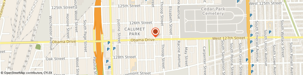 Route/map/directions to Buddy CITGO, 60827 Calumet Park, 1336 W 127Th St