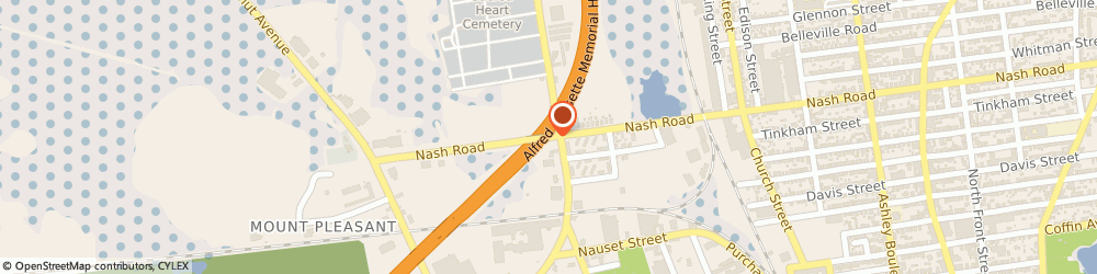 Route/map/directions to Costas Tang Soo Do Karate, 02746 New Bedford, 376 Nash Rd