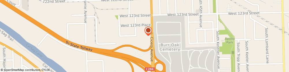 Route/map/directions to Yaffo Auto Svc, 60803 Alsip, 12400 S Cicero Ave