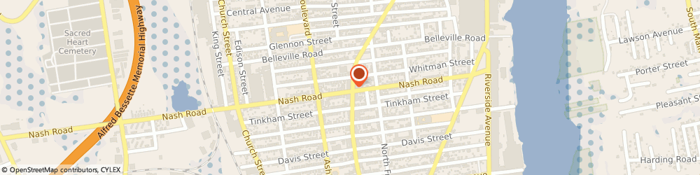 Route/map/directions to Sapataria Portuguese, 02746 New Bedford, 1703 ACUSHNET AVENUE