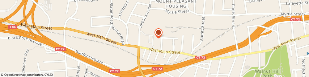 Route/map/directions to Little Caesars Pizza, 06053 New Britain, 665 W. Main St.