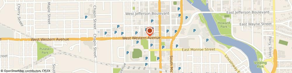 Route/map/directions to Superglass Windshield Repair, 46601 South Bend, STREET