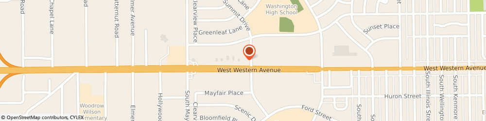 Route/map/directions to ExpertTire, 46619-2309 South Bend, 4921 W Western Ave