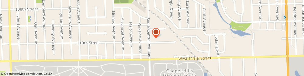 Route/map/directions to Gerber Collision & Glass, 60453 Oak Lawn, 10933 S Central Ave