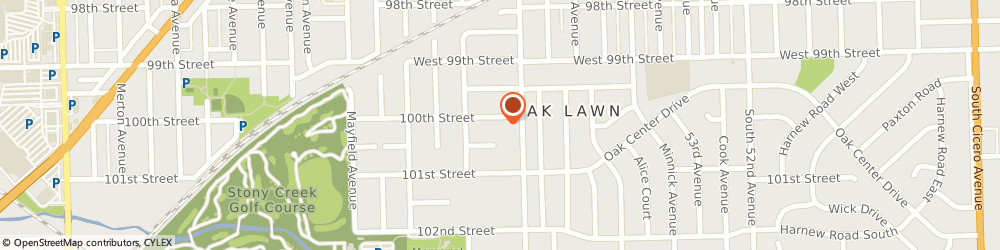 Route/map/directions to Jazzercise Oak Lawn First United Methodist Church, 60453 Oak Lawn, 10000 S. Central Avenue