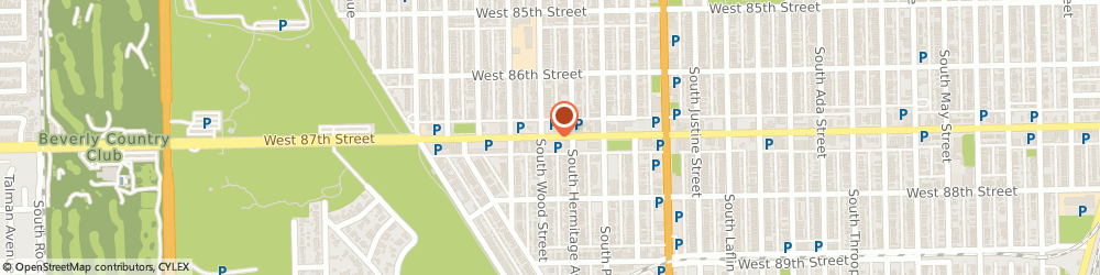 Route/map/directions to Baskin Robbins, 60620 Chicago, 1753 W.87Th Street