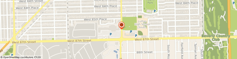 Route/map/directions to Baskin-Robbins, 60652 Chicago, 3210 W. 87th St