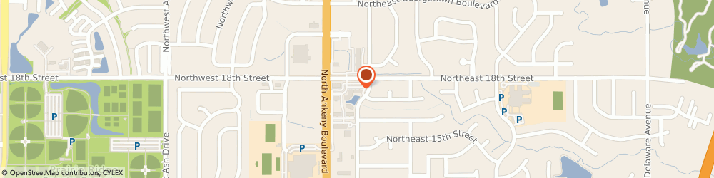 Route/map/directions to Shelter Insurance, 50021 Ankeny, 121 Ne 18Th St Ste B
