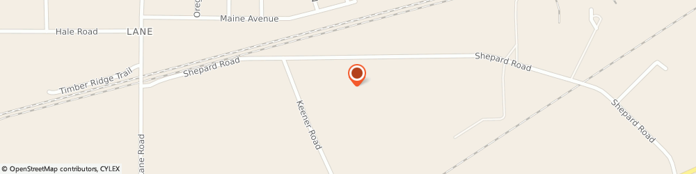 Route/map/directions to Douglas Rought Insurance, 44081 Perry, 3240 Shepard Rd