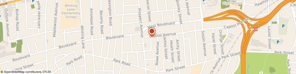 Route/map/directions to Pauls Depot Garage, 06106 Hartford, 1115 CAPITOL AVENUE