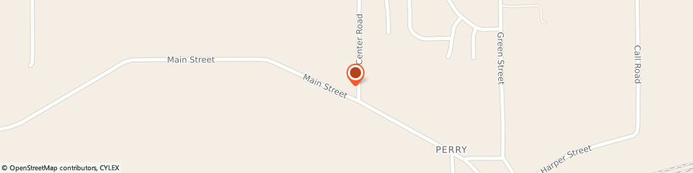 Route/map/directions to Perry United Methodist Church, 44081 Perry, 3875 MAIN STREET