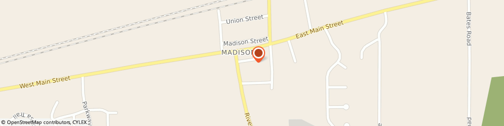 Route/map/directions to Madison Park United Methodist Church, 44057 Madison, 31 PARK STREET