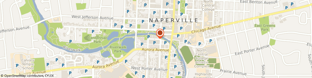 Route/map/directions to Naperville Township - Assessors Office, 60540 Naperville, Administration Building;139 Water Street
