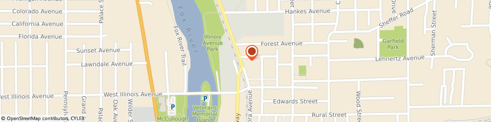 Route/map/directions to Safeco Insurance Agent, 60505-2155 Aurora, 751 Aurora Ave