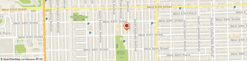 Route/map/directions to Mcnamara Real Estate, 60629 Chicago, 6441 SOUTH TRIPP AVENUE