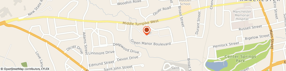 Route/map/directions to Little Caesars Pizza, 06040 Manchester, 394 Middle Turnpike West